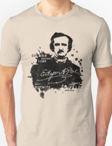 Edgar Allan Poe - Poe the Raven - The Following - Brilliant and Dark World of Poe Unisex T-Shirt