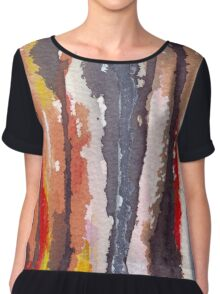 The mystical world of Flowers and Plants Chiffon Top