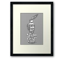 the writher Framed Print