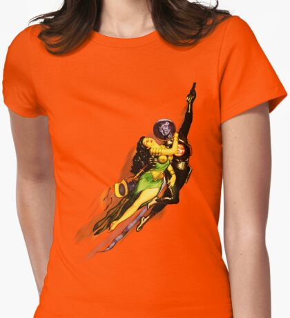 Bubble Trouble Womens Fitted T-Shirt