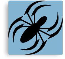 Slanted Spider Canvas Print