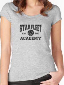 Star fleet academy Women's Fitted Scoop T-Shirt