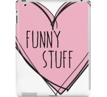 Funny stuff iPad Case/Skin