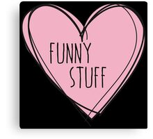 Funny stuff Canvas Print