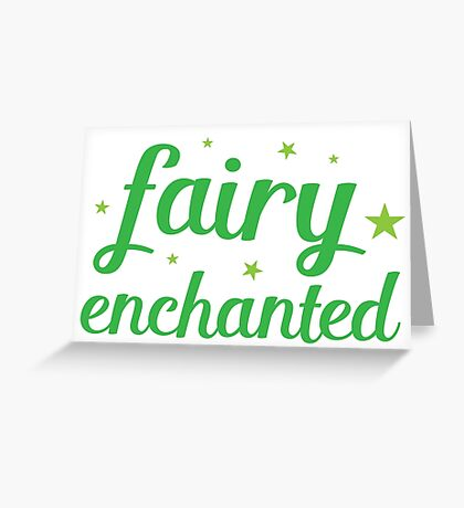 fairy enchanted Greeting Card