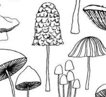 Mushroom Madness! Sticker