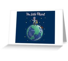 The Little Planet Greeting Card