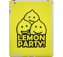 Lemon Party! iPad Case/Skin