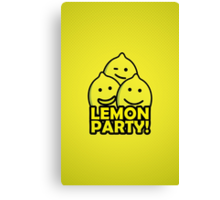 Lemon Party! Canvas Print