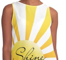 SHINE Until Tomorrow Contrast Tank