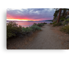 The Old Highway - Lake Tahoe Canvas Print