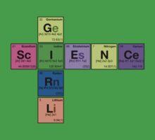 SCIENCE GIRL! - Periodic Elements Scramble Kids Tee