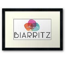 Pays Basque - Biarritz Framed Print