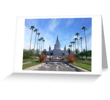 Oakland Temple No. 1 Greeting Card