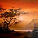 African Sunset by Cherie Roe Dirksen