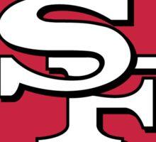 San Francisco 49ers logo Sticker