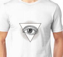 Triangle glow Unisex T-Shirt