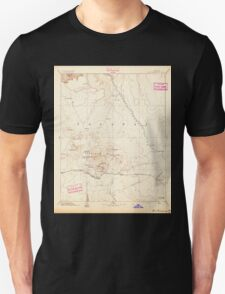 USGS TOPO Map Arizona AZ San Francisco Mtns 315599 1894 250000 Unisex T-Shirt