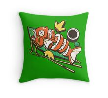 Sushikarp Throw Pillow