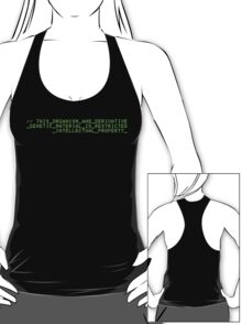Restricted Intellectual Property -- Orphan Black T-Shirt