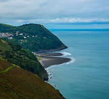 Lynmouth North Devon by Chris Thaxter