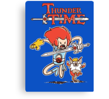 Thunder Time Canvas Print