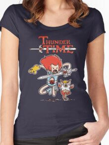 Thunder Time Women's Fitted Scoop T-Shirt