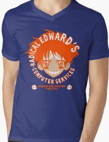 Radical Computer Services Mens V-Neck T-Shirt
