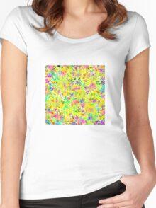 Graffiti Summer Women's Fitted Scoop T-Shirt