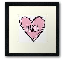 Marijuana Maria Framed Print