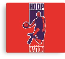 Hoop Nation Canvas Print