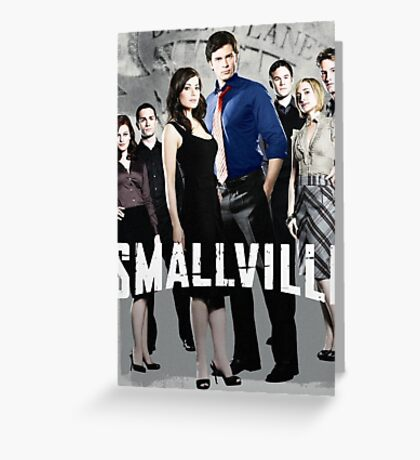 Smallville Season 1  Greeting Card