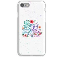 Empire of Storms: The world will be saved and remade... iPhone Case/Skin