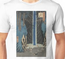 Fudo Falls Oji - Hiroshige Ando - 1857 Unisex T-Shirt