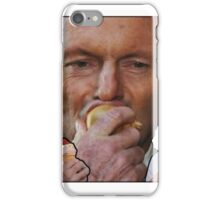 Tony Abbott eating stuff, and an onion iPhone Case/Skin
