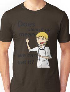 Can we eat it??? Unisex T-Shirt
