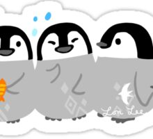 Penguin Babies - Simple Happiness Sticker