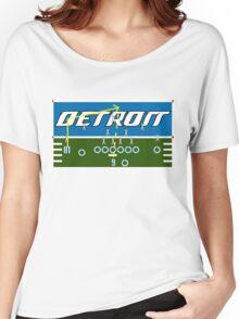 Detroit Touchdown Women's Relaxed Fit T-Shirt