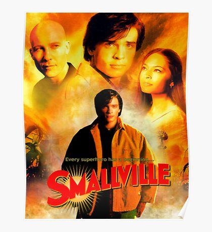 Smallville Season 1 Best Cover Poster