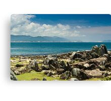 rock and sea Canvas Print