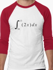 Calculus is fun! Men's Baseball ¾ T-Shirt