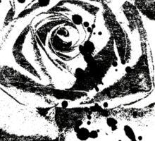Black Ink Rose  Sticker