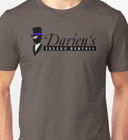 Darien's Tuxedo Rentals Unisex T-Shirt