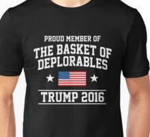 Proud Member of the Basket of Deplorable Unisex T-Shirt