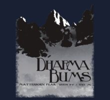 dharma bums - matterhorn peak Kids Clothes
