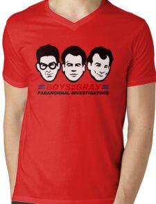 Boys in Gray Mens V-Neck T-Shirt