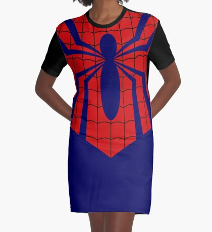 Mayday's Spider Graphic T-Shirt Dress