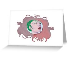 Green Elf Greeting Card
