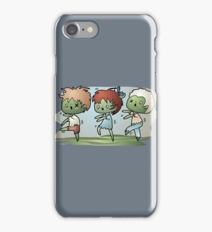Kawaii Zombies iPhone Case/Skin