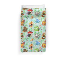 Simple Happiness Animal Pattern Duvet Cover